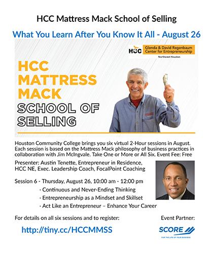 HCC Mattress Mack School of Selling