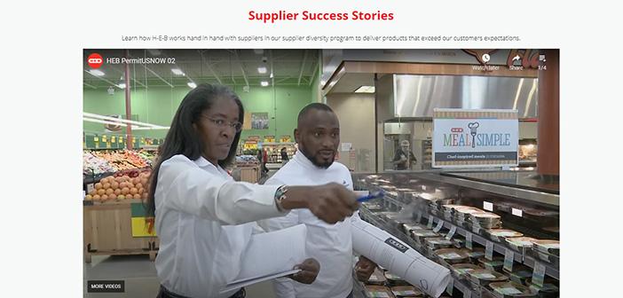 HEB Supplier Success Stories
