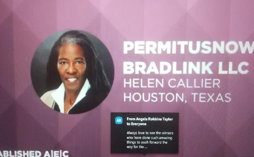 Helen Callier online participation via Zoom