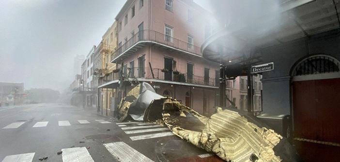 Louisiana hit by Hurricane Ida